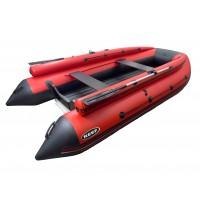 Лодка REEF-390 F НД красный/черный