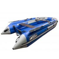 Лодка СКАТ 390 F графит/синий интегрированный